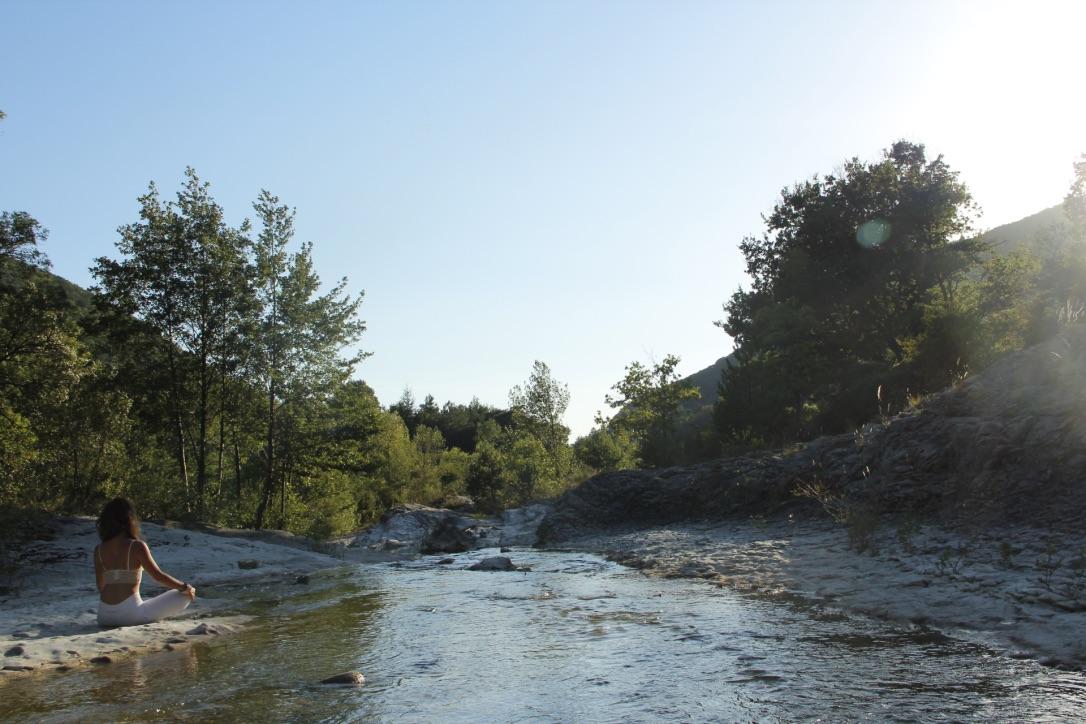 La rivière accessible du domaine