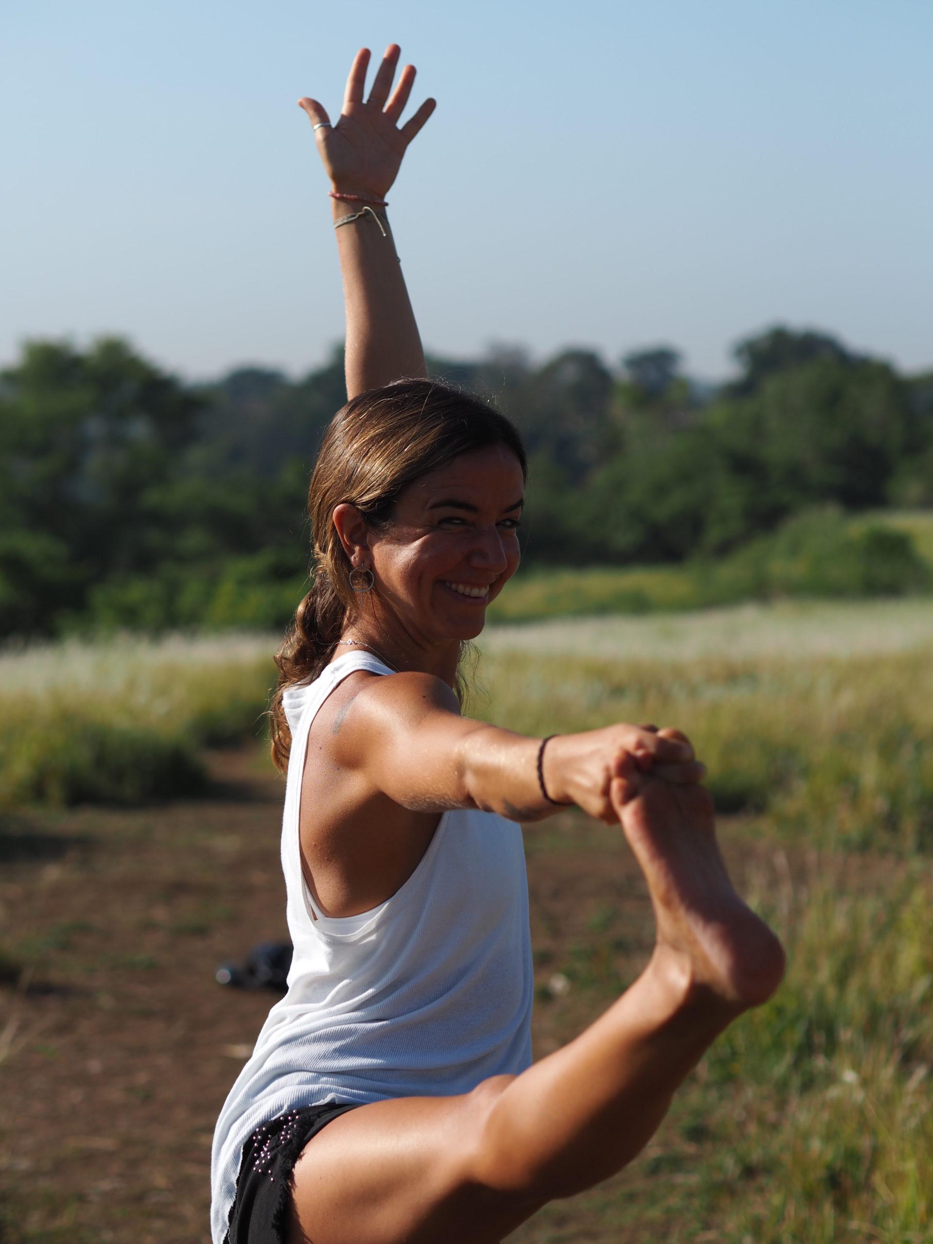 Marcela Rodrigues, professeure de Yoga