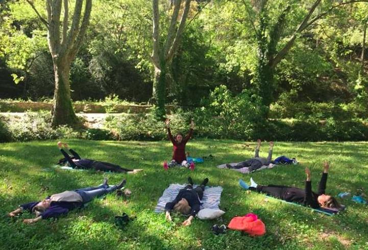 Pratique de yoga avec Solène