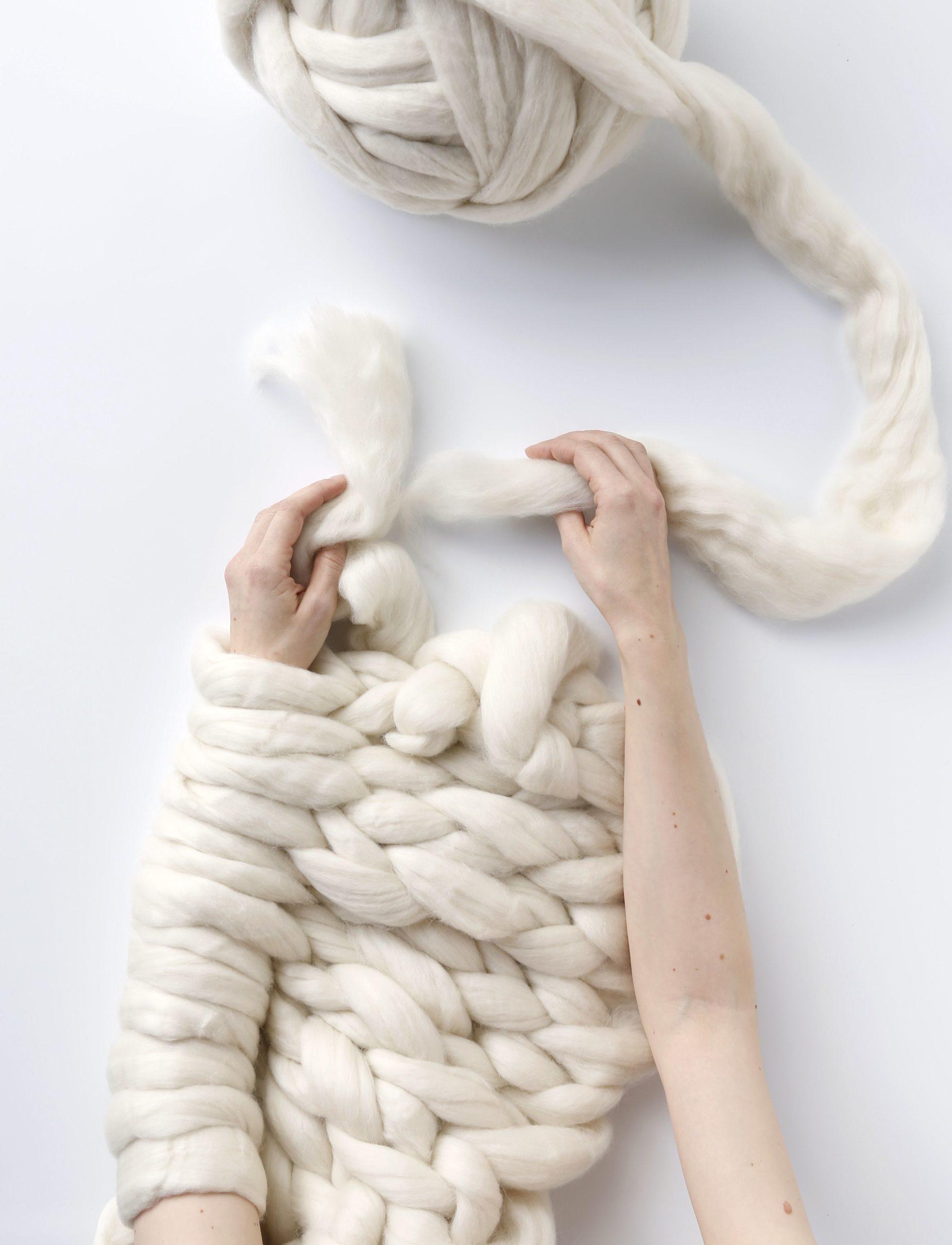 Technique d'Arm knitting