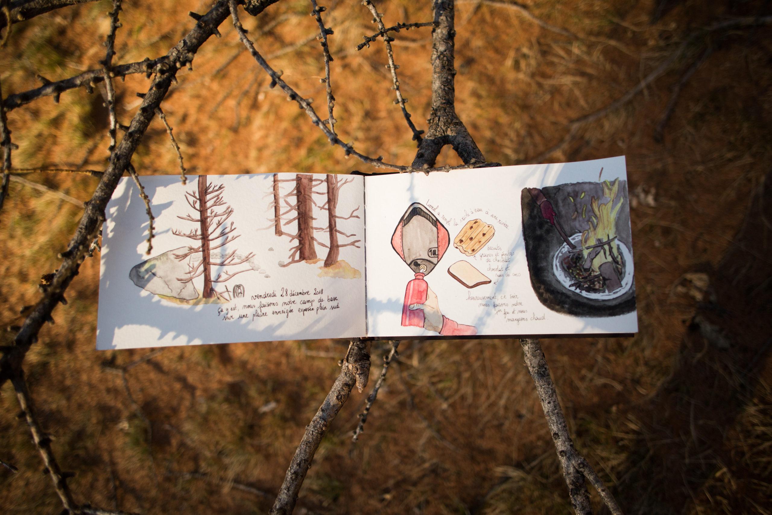 Carnet de voyage, Luberon